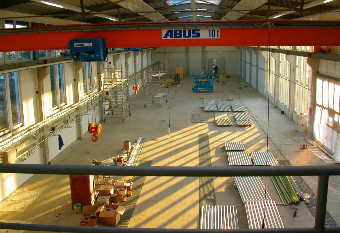 Schlicht + Fischer Ingenieurgesellschaft / Bauprojekt: Firma Weber Neubau Technikum