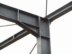 Schlicht + Fischer Ingenieurgesellschaft / Rahmenknoten im Stahlbau