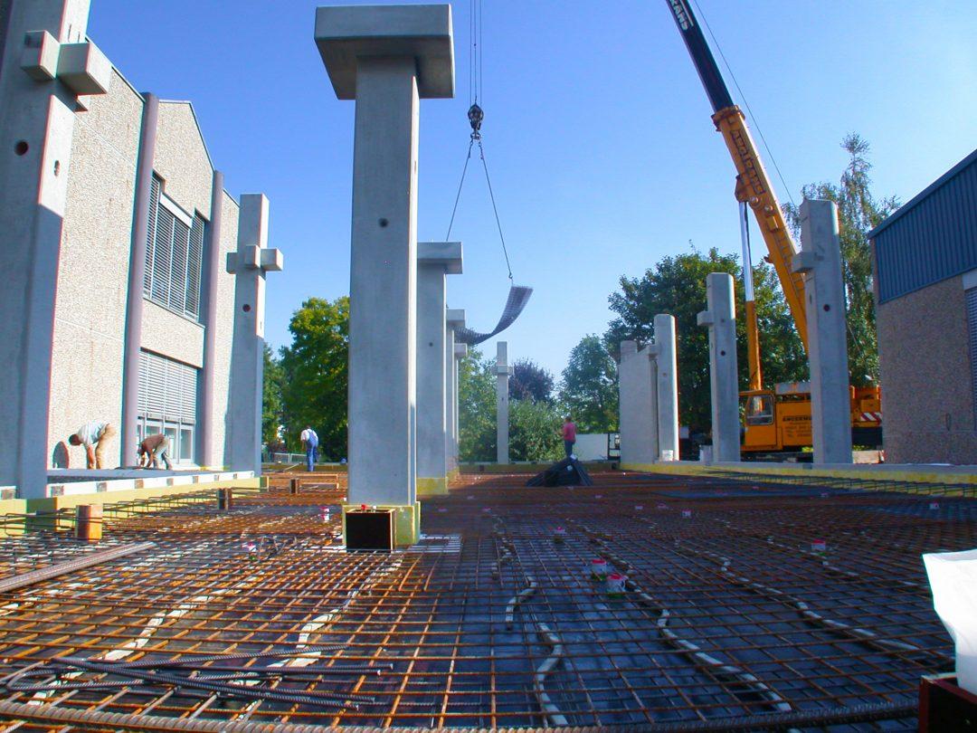 Schlicht + Fischer Ingenieurgesellschaft / Bürogebäude Firma Maschinenbau Leicht
