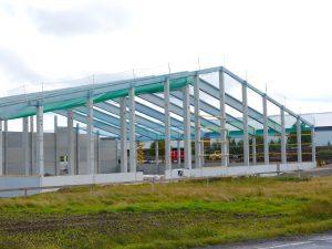 Schlicht + Fischer Ingenieurgesellschaft / Lagerhalle Wiegand-Glas, Großbreitenbach