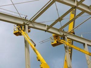 Schlicht + Fischer Ingenieurgesellschaft / Montage Stahlkonstruktion