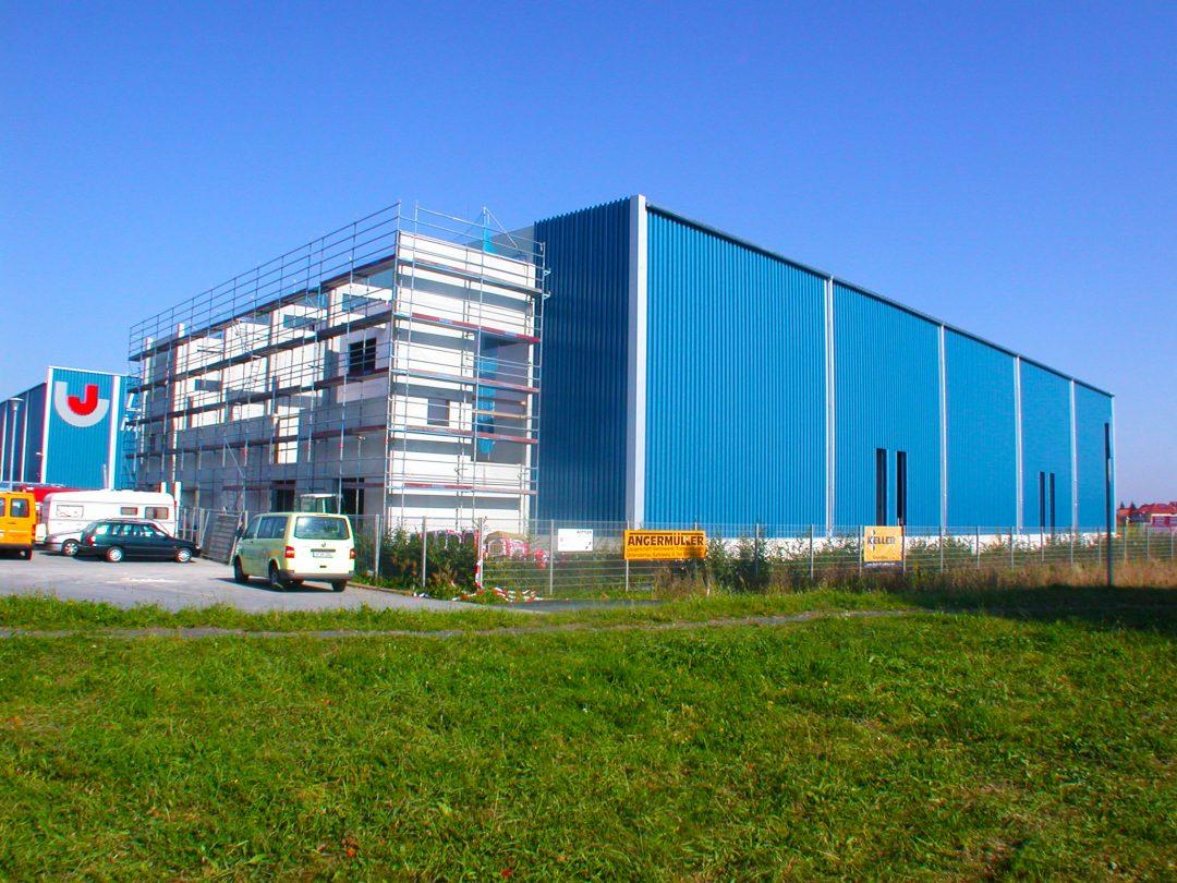 Schlicht + Fischer Ingenieurgesellschaft / Produktionshalle Firma Maschinenbau Leicht