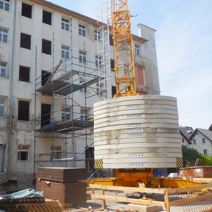 Schlicht + Fischer Ingenieurgesellschaft / Seniorenwohnanlage Kresge-Gebäude, Sonneberg