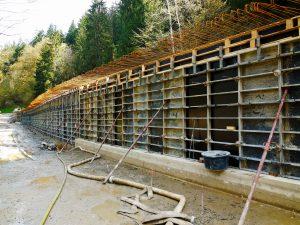 Schlicht + Fischer Ingenieurgesellschaft / Stützmauern KC3 bei Gifting