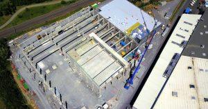 Schlicht + Fischer Ingenieurgesellschaft / Dr. Schneider | Neubau Technologie- und Prozesscenter in Kronach